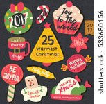 christmas tag   labels | Shutterstock .eps vector #533680156