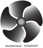 electric industrial ventilator | Shutterstock . vector #53369419