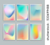 Vivid Gradient Backgrounds. Se...