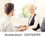 people working in a modern... | Shutterstock . vector #533703955