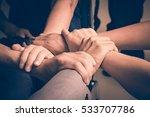 hands were a collaboration... | Shutterstock . vector #533707786