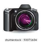 digital camera | Shutterstock .eps vector #53371636