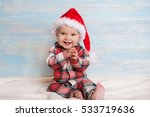 Baby First Christmas. Baby Wit...
