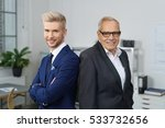 confident successful business... | Shutterstock . vector #533732656