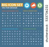 big icon set clean vector | Shutterstock .eps vector #533736232