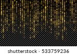 shimmering glow glittering... | Shutterstock .eps vector #533759236