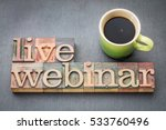 live webinar word abstract  in... | Shutterstock . vector #533760496