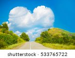 the way to love or a large... | Shutterstock . vector #533765722