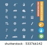 car service and repair icons... | Shutterstock .eps vector #533766142