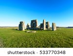 Stonehenge England.the...