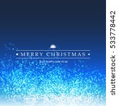 merry christmas   colorful... | Shutterstock .eps vector #533778442