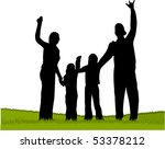 family | Shutterstock .eps vector #53378212