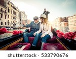 couple of lovers on vacation in ... | Shutterstock . vector #533790676