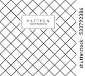 grid minimal seamless pattern.... | Shutterstock .eps vector #533792386