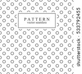 minimalist geometric seamless... | Shutterstock .eps vector #533792455