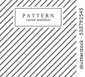 minimal geometric striped... | Shutterstock .eps vector #533792545