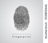 black fingerprint...