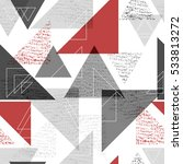 geometric modern seamless...   Shutterstock .eps vector #533813272