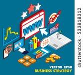 illustration of info graphic... | Shutterstock .eps vector #533818312