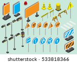 illustration of info graphic... | Shutterstock .eps vector #533818366