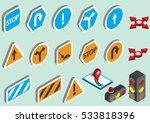 illustration of info graphic... | Shutterstock .eps vector #533818396