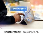 transparency  business concept