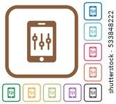 smartphone tweaking simple... | Shutterstock .eps vector #533848222