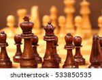 wood  chess | Shutterstock . vector #533850535