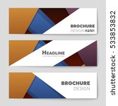 abstract vector layout... | Shutterstock .eps vector #533853832