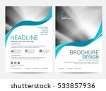 brochure layout design template | Shutterstock .eps vector #533857936