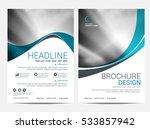 brochure layout design template | Shutterstock .eps vector #533857942