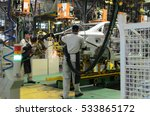 car assembly at the plant | Shutterstock . vector #533865172