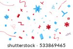 large amount of small plastic... | Shutterstock . vector #533869465