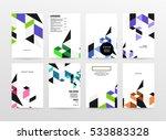 geometric background template...   Shutterstock .eps vector #533883328