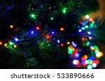 Colorful Christmas Lights...