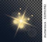 light flare or star explosion... | Shutterstock .eps vector #533901982