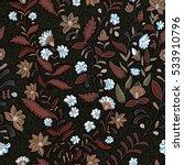 floral seamless pattern.... | Shutterstock .eps vector #533910796