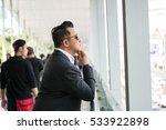 asian man in business look. | Shutterstock . vector #533922898