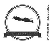 java vector map stamp. retro... | Shutterstock .eps vector #533926822