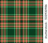christmas tartan seamless... | Shutterstock .eps vector #533930986