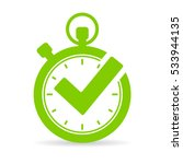 best time vector icon... | Shutterstock .eps vector #533944135