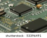 image of integrated circuits... | Shutterstock . vector #53396491