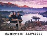 family travel slovenia  europe. ... | Shutterstock . vector #533969986
