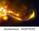 golden christmas and new year... | Shutterstock . vector #533979292