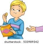 illustration of a little boy... | Shutterstock .eps vector #533989342