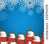 Winter Holiday Seamless Border...