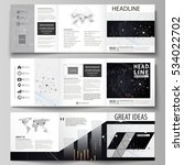 business templates for tri fold ... | Shutterstock .eps vector #534022702