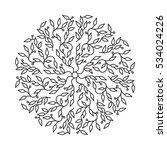 abstract black color logo... | Shutterstock .eps vector #534024226