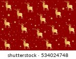 vector red background with a... | Shutterstock .eps vector #534024748