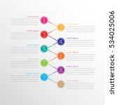 vector infographic templates... | Shutterstock .eps vector #534025006